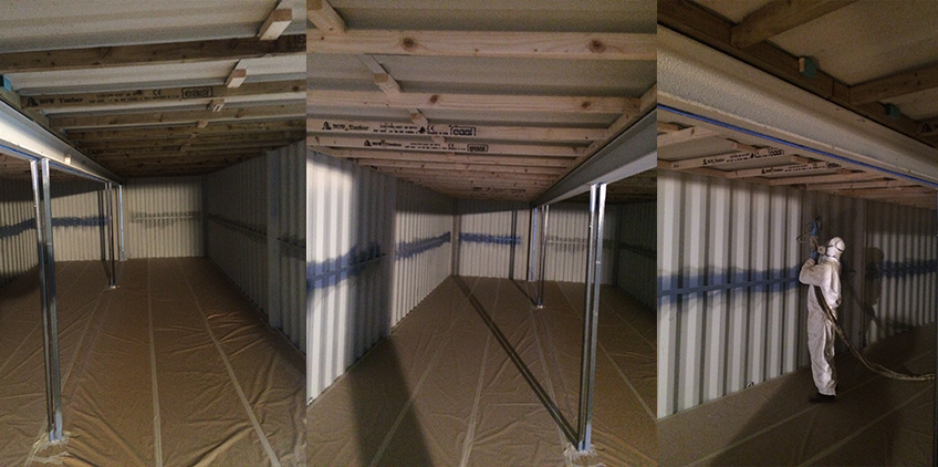 Green Insulation Container Insulation